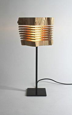 Reclaimed Wood Sculpture Illuminated Art by SplitGrain on Etsy Cool Lighting, Lighting Design, Led, Luminaria Diy, Modern Furniture, Furniture Design, Deco Luminaire, Illumination Art, Reclaimed Wood Art