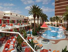 Encore Beach Club Las Vegas pool party at the Encore Hotel and Casino