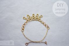 DIY_JumpRing_Necklace_Gold