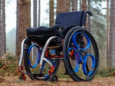 Introducing the spoke-less, shock-absorbing wheel that's changing the way bikes and wheelchairs roll.