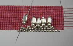 Different Edging For Loom Beaded Pieces