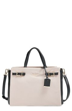 kate spade new york  holden street - lanie  textured leather satchel  available at   ad4a19769d0a2