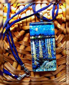 Necklace Starry Night