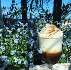 Perfect Irish Coffee  @ Dune Restaurant Cafe Lounge in Mielno, Poland