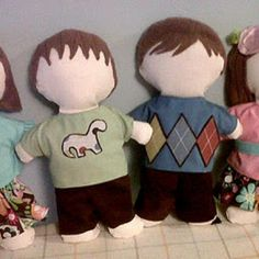 Cute! And perhaps the first step toward my goal of making Waldorf dolls for the boys.