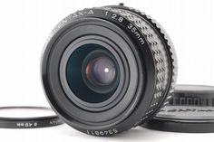 【NEAR MINT】Pentax SMC PENTAX-A 35mm f/2.8 W/ MINOLTA Filter and more Japan 50 #PENTAX