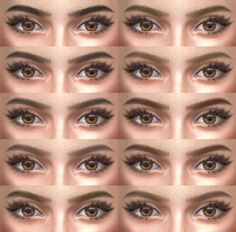 Lana CC Finds - Eyebrows 12 non HQ by alf-si