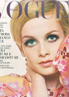Twiggy on VOGUE, 1967