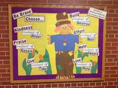 Anti-bullying bulletin board (October is Bullying Prevention month)