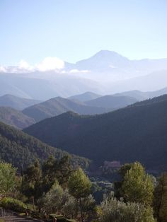 The High Atlas Mountains and Ourika Valley, Morocco