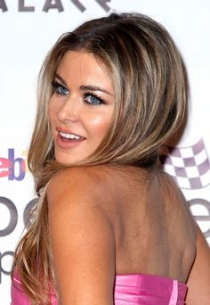 Carmen Electra rocks many hairstyles