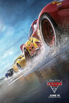 Cars 3 fantastic movie poster