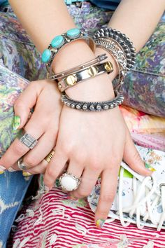 Serious arm candy from Nasty Gal.