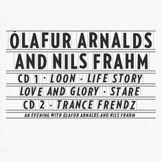 COLLABORATIVE WORKS by Ólafur Arnalds & Nils Frahm (2015, Erased Tapes)