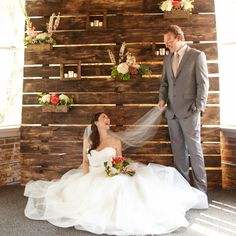 Wedding Backdrop with moveable boxes