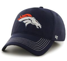 Denver Broncos 47 Brand Navy Game Time Closer Performance Flexfit Hat Cap