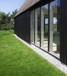 Detail Holzschalung Gotland Summer House / Enflo Arkitekter + DEVE Architects