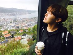 Hobi looks so majestic but now I want coffee