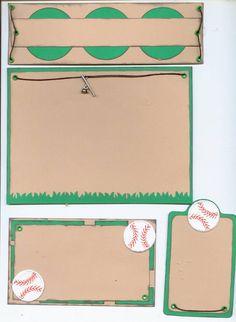Baseball Page Kit - Scrapbook.com