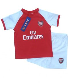 8cec0b131 New season Arsenal baby kit t-shirt and shorts. Dress the little ones just