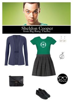 """""""Sheldon Cooper - Big Bang Theory"""" by closplaying ❤ liked on Polyvore"""