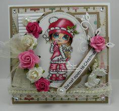 Do Not Open Till Christmas Handmade OOAK Card by thehoosierstamper, $14.95 USD
