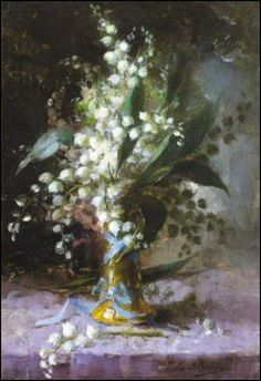 Le premier Mai - muguet en peinture - Frans Mortelmans (1865-1936)