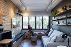 18평의 공간을 살려내는 인더스트리얼 인테리어 (출처 SJ Kwon)