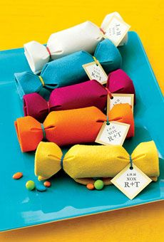 Bag your own candy favors