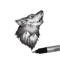 Une sélection des délicates illustrations de Thiago Bianchini, un graphic designer et illustrateur brésilien, basé à São Paulo, qui combine nature et a