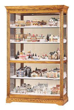 Howard Miller 680-237 Parkview Curio Cabinet