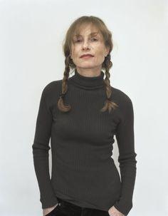 Isabelle Huppert by Rineke Dijkstra