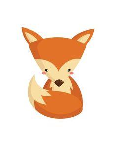Free Digital Download - Woodland Nursery Decor - Fox