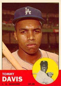 Tommy Davis great hitter on a weak hitting team Dodgers Baseball, Baseball Players, Baseball Shoes, Baseball Card Values, Baseball Cards, Sports Personality, Dodger Blue, Sports Photos, Chicago White Sox