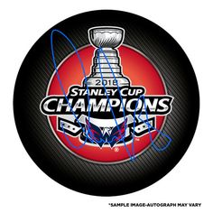 af033aa2a99 Alex Ovechkin Washington Capitals Fanatics Authentic 2018 Stanley Cup  Champions Autographed Stanley Cup Champions Logo Hockey Puck