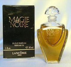 Magie Noire Perfume by Lancome   MAGIE-NOIRE-Vintage-HUILE-PARFUM-Perfume-Oil-LANCOME-1-oz-FULL-UNUSED ...