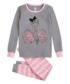 7e934321e Gray Ballerina Pajama Set - Toddler & Girls. Pajama SetGirl OutfitsGrey ChildrenSweatshirtsSweatersClothesPjsToddler Girls