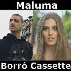 Acordes D Canciones: Maluma - Borro Cassette