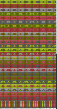 Tricksy Gráficas Knitter: isle 1b justo por nadine