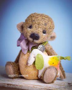 Needle Felting, Teddy Bear, Knitting, Create, Toys, Animals, Activity Toys, Animales, Tricot