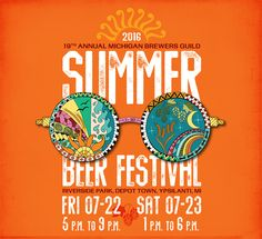 Soak up some sun and suds at the Michigan Summer Beer Festival on Friday, July 22 and Saturday, July 23. This event is the oldest of the Guild's four annual festivals.