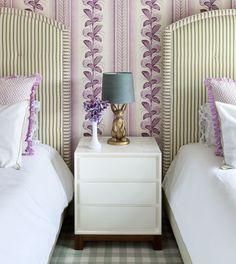 Tilten Fenwick - love the lavender and green.