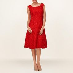Poppy Flavia Ribbon Tapework Fit And Flare Dress http://picvpic.com/women-dresses-cocktail-party-dresses/poppy-flavia-ribbon-tapework-fit-and-flare-dress
