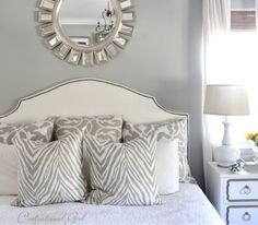 For the living room: silver mist sherwin williams