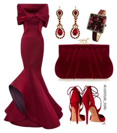 """""""Untitled #138"""" by nochnaifyria on Polyvore featuring Zac Posen, Givenchy, Wilbur & Gussie, Aquazzura and TOKYObay"""