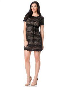 BCBGMAXAZRIA Short Sleeve Maternity Dress #maternityclothing #short #dress