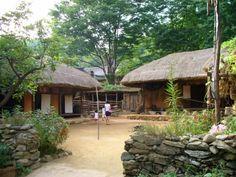 old houses korea | Experience Old Korea at the Korean Folk Village | The Korean Way