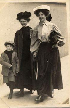 Linley Sanborn snap, May 1907