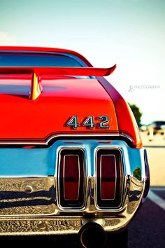 442 Oldsmobile -- vintage car photo shoot in RVA