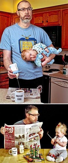 O melhor – e mais atrapalhado - pai do mundo